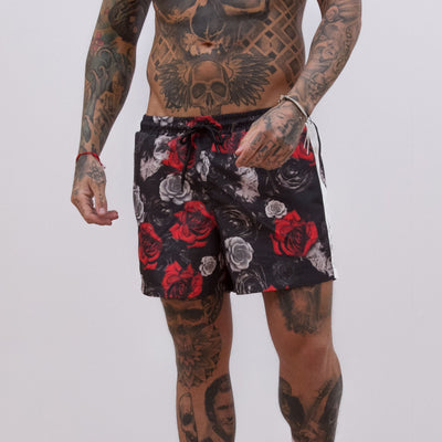 Avora London - Celo Rose Swim Shorts