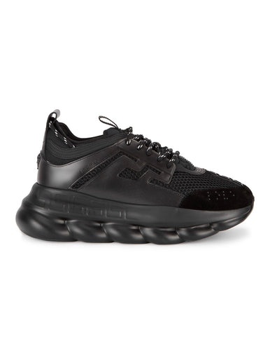 VERSACE Chain Reaction mesh trainers