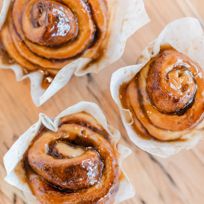 Sourdough Cinnamon Buns (Box of 4)