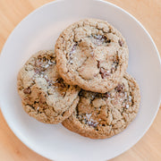 Espresso Rye Chocolate Chip Cookies (6)