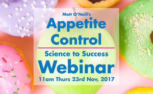 Appetite Control: Science to Success Webinar - Recorded Package
