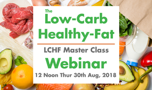 The Low-Carb, Healthy-Fat Master Class - Recorded Package