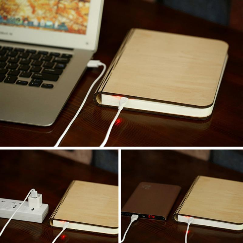 Book-Shaped Light - geniesave