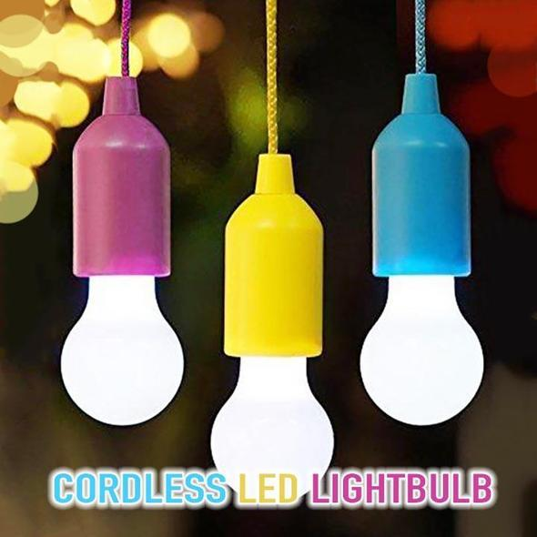 Portable Cordless LED Lightbulb - geniesave