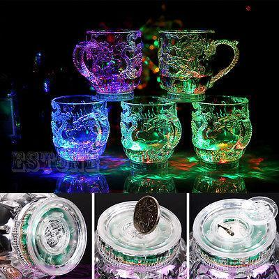 3D LED Dragon MUG/Rainbow Light Glow Mugs - geniesave