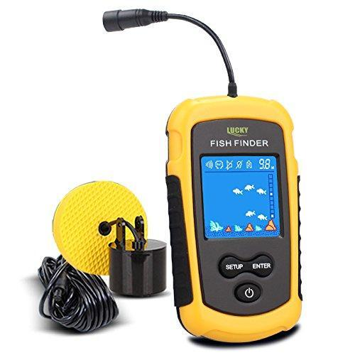Sonar Fishing Finder™ Portable Sonar Alarm Sensor - Colored LCD