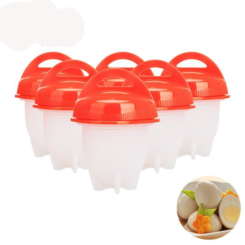Silicone Egg Cookers 6Pcs - geniesave