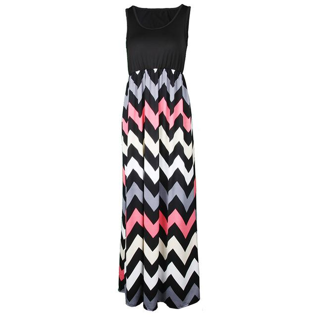Maxi Length Dress - geniesave