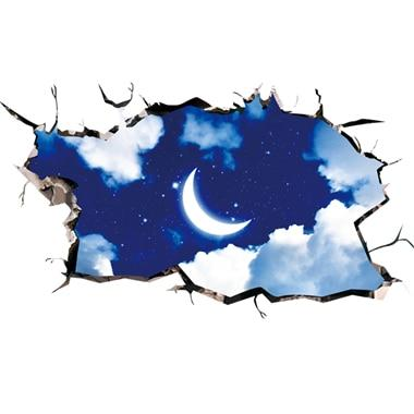 Cosmic Galaxy Planet Wall Decor Outer Space - geniesave