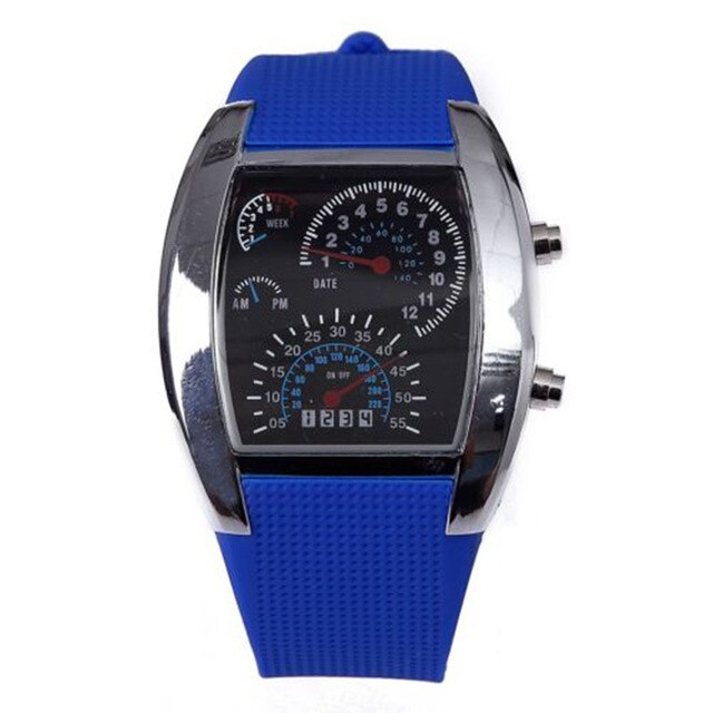 *LIMITED EDITION* LED Racing Wrist Watch