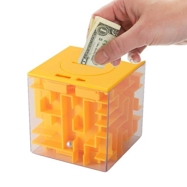 Maze Money Box - geniesave
