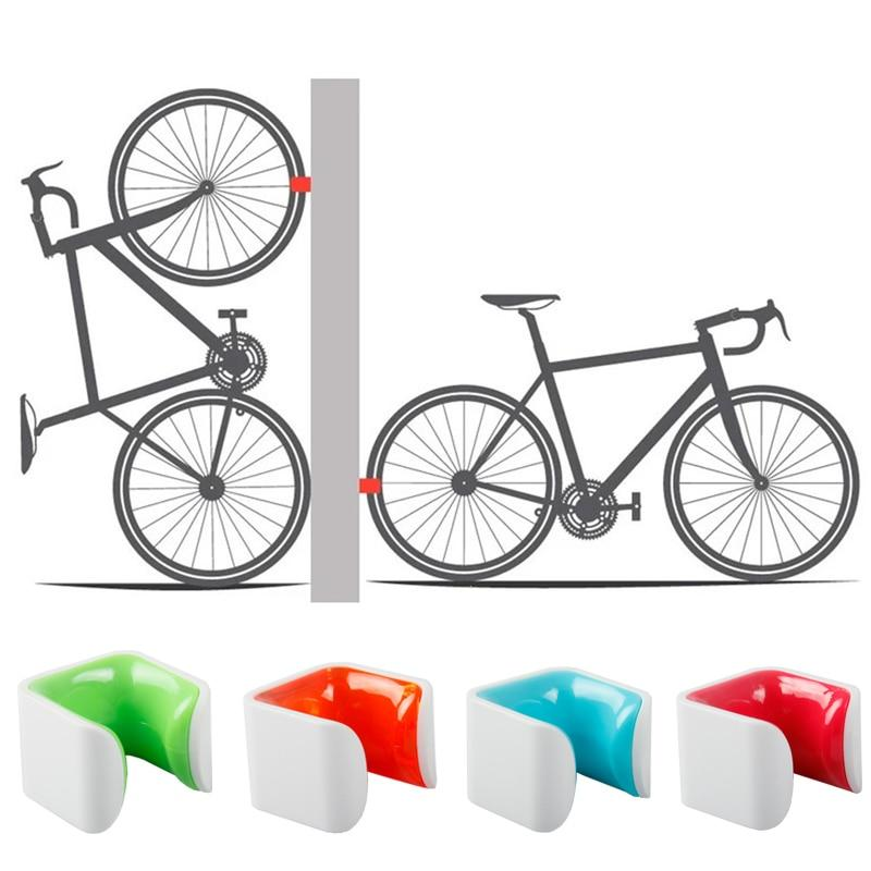 Bicycle Wall Wheel Clamp - geniesave