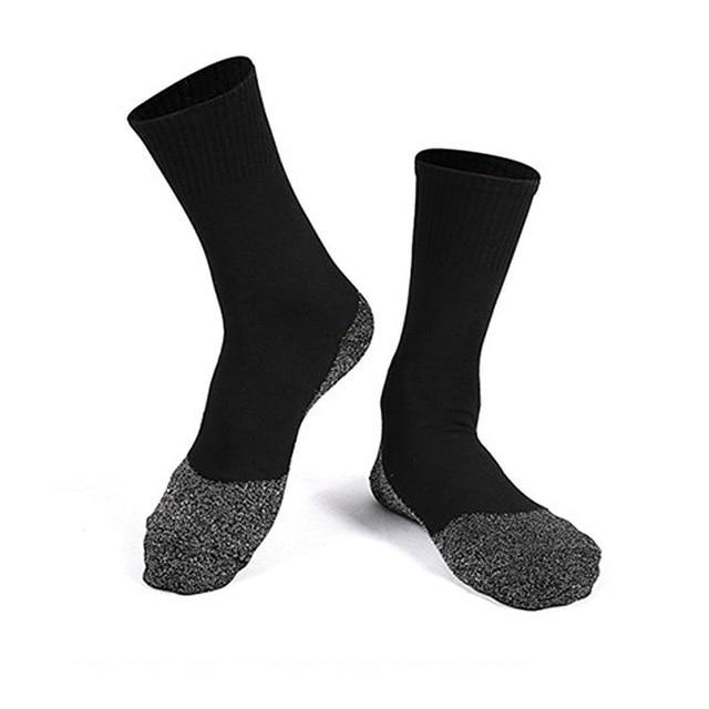 Winter 35 Below Aluminized Insulation Fibers Heat Socks - geniesave