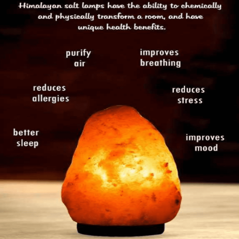 Crystal Salt Lamp - geniesave