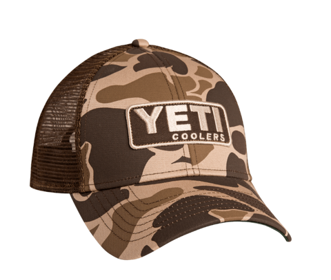 Yeti - Custom Camo Hat With Patch