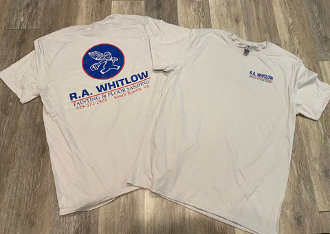 R.A. Whitlow T-Shirts Screenprinted by Distinct Impressions