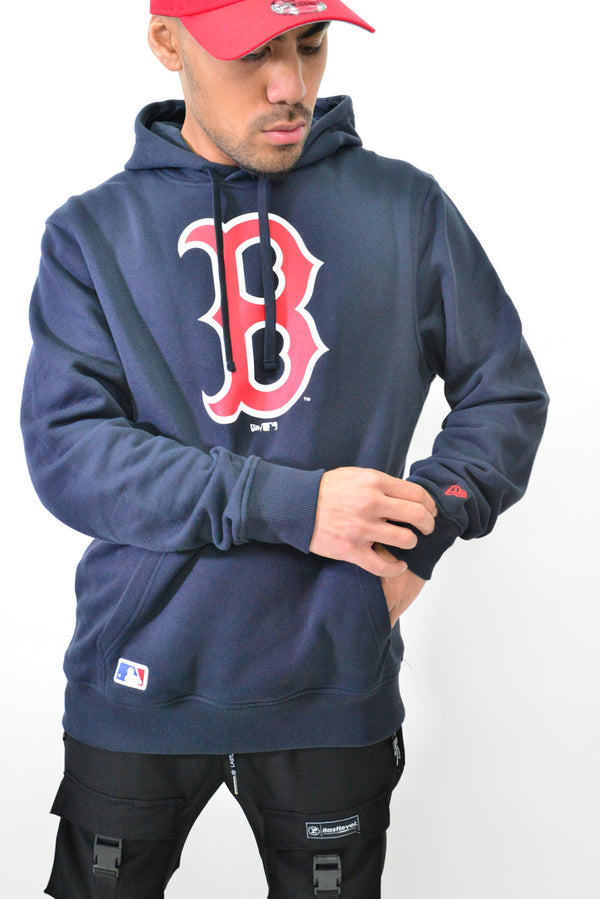 NEW ERA BOSTON RED SOX PULLOVER HOOD