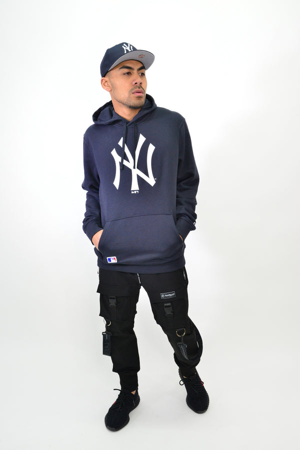 NEW ERA NY YANKEES PULLOVER HOOD