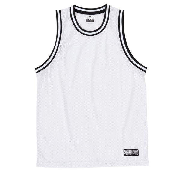 Pro Club Classic Basketball Jersey - WHITE