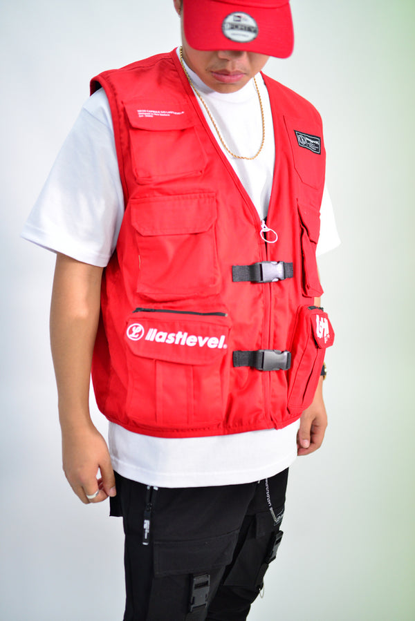 TACTICAL VEST - RED