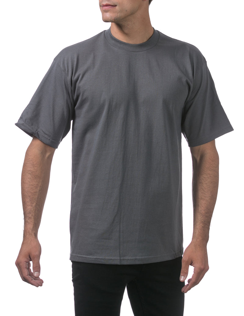 Proclub Heavyweight Short Sleeve Tall Tee - GRAPHITE