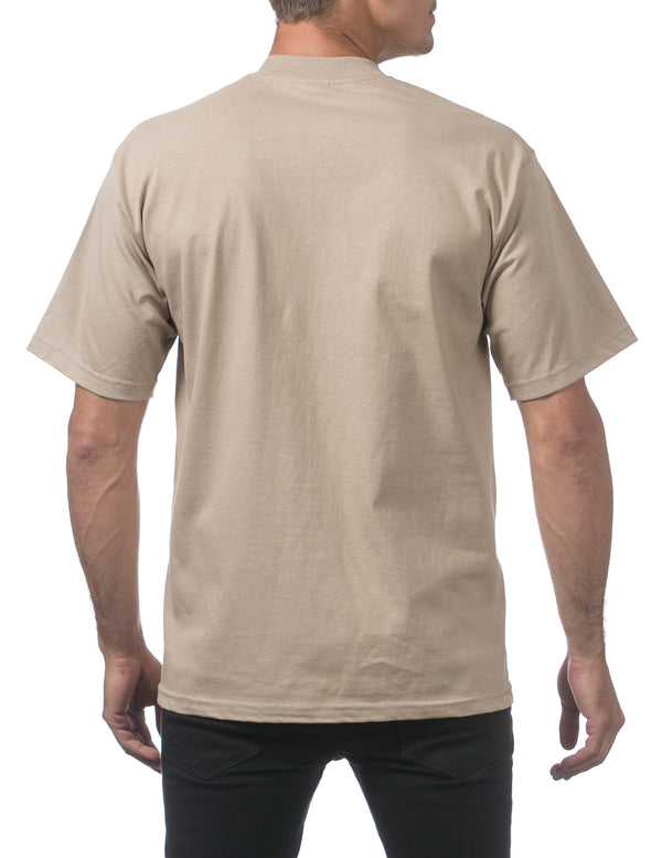 Proclub Heavyweight Short Sleeve TALL Tee - KHAKI