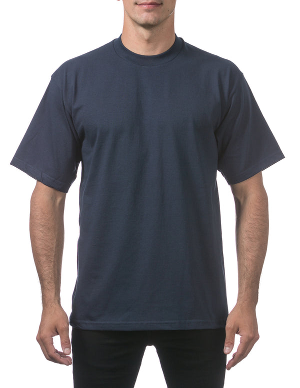 Proclub Heavyweight Short Sleeve Tall Tee - NAVY