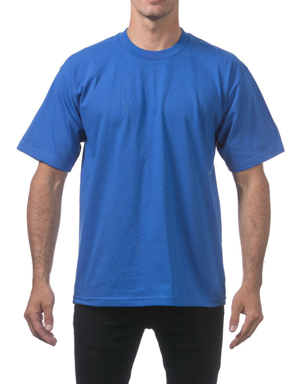 Proclub Heavyweight Short Sleeve Tall Tee - ROYAL BLUE