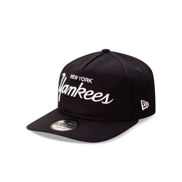 New York Yankees Team Script THE GOLFER SNAPBACK - NAVY