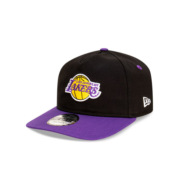 Los Angeles Lakers Two Tone THE GOLFER SNAPBACK - BLACK/PURPLE