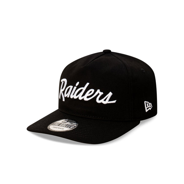 Las Vegas Raiders Team Script THE GOLFER SNAPBACK - ROYAL