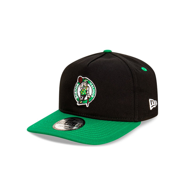 Boston Celtics Two Tone THE GOLFER SNAPBACK - Black/Scarlet