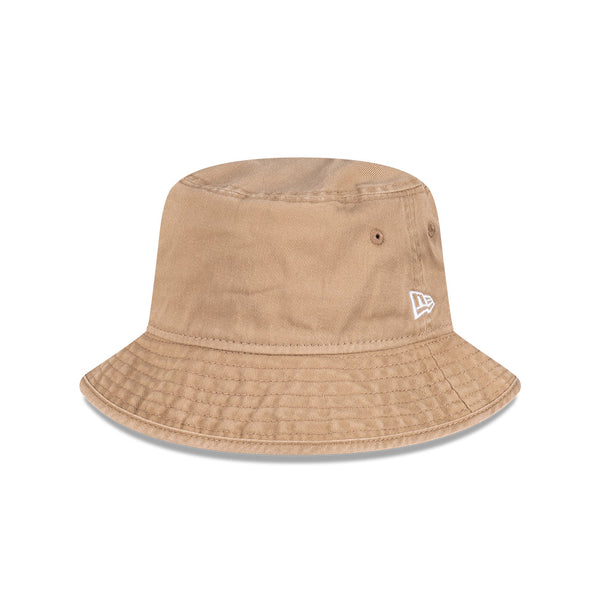 Plain Essential Bucket Hat- Khaki