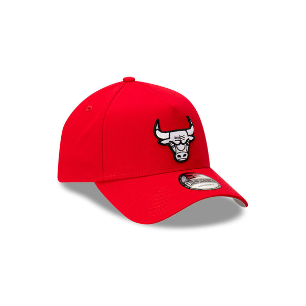 Chicago Bulls 9FORTY A-FRAME - Scarlet/Black/White Logo