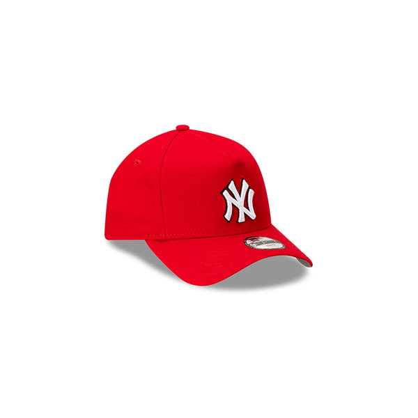 YOUTH New York Yankes 9FORTY A-FRAME - Scarlet/Black/White logo