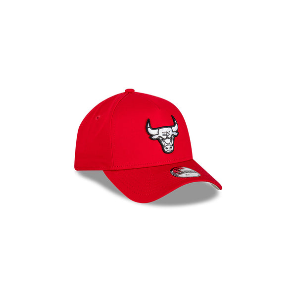 YOUTH Chicago Bulls 9FORTY A-FRAME - Scarlet/Black/White logo