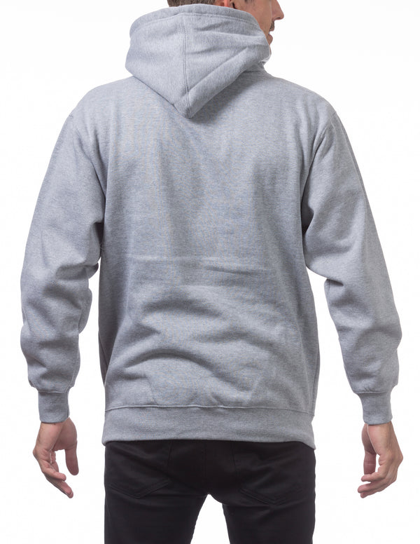 Proclub Heavyweight Pullover Hoodie - HEATHER GREY