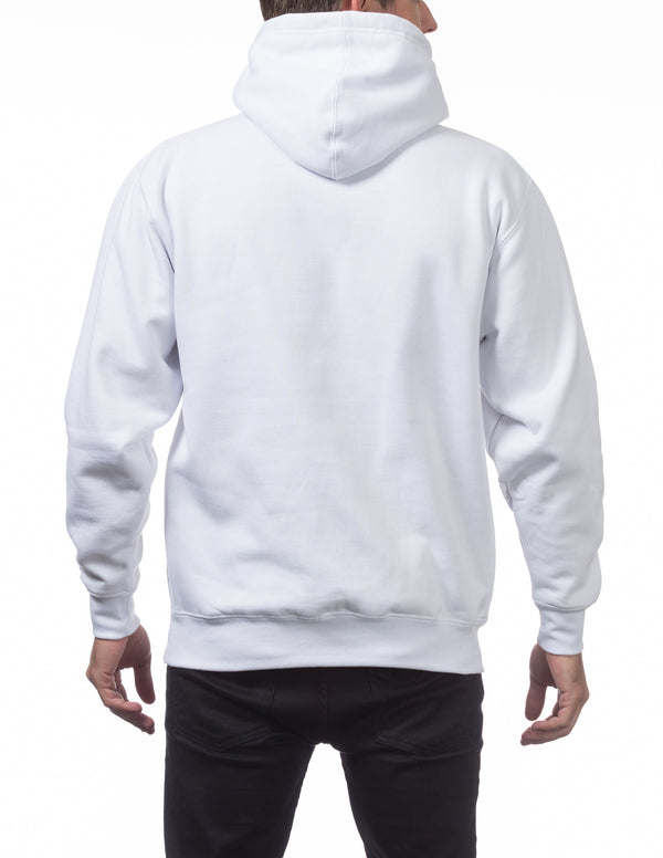 Proclub Heavyweight Pullover Hoodie - WHITE