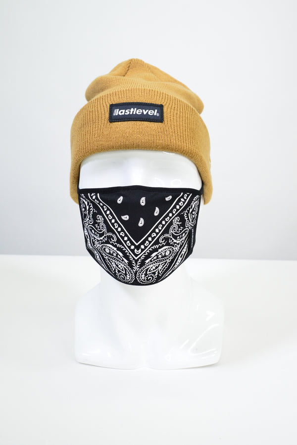 NEW ERA X LASTLEVEL BOGO KNIT CUFF BEANIE - WHEAT