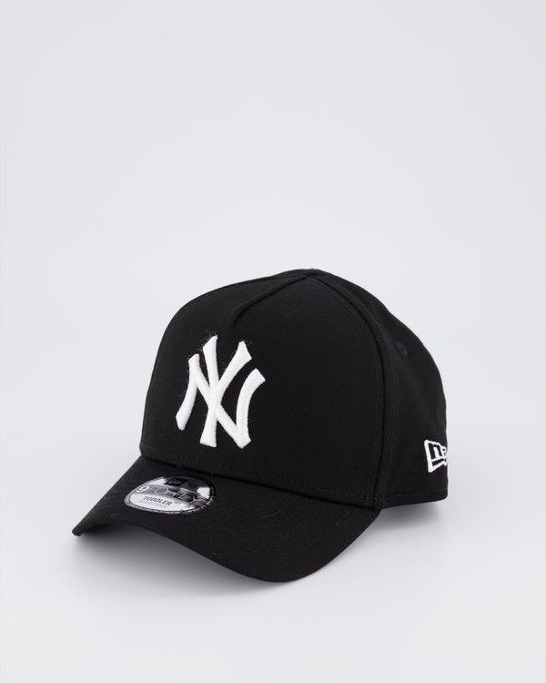 TODDLERS NY YANKEES 9FORTY A-FRAME - BLACK