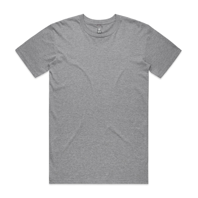 STAPLE TEE - GREY MARLE