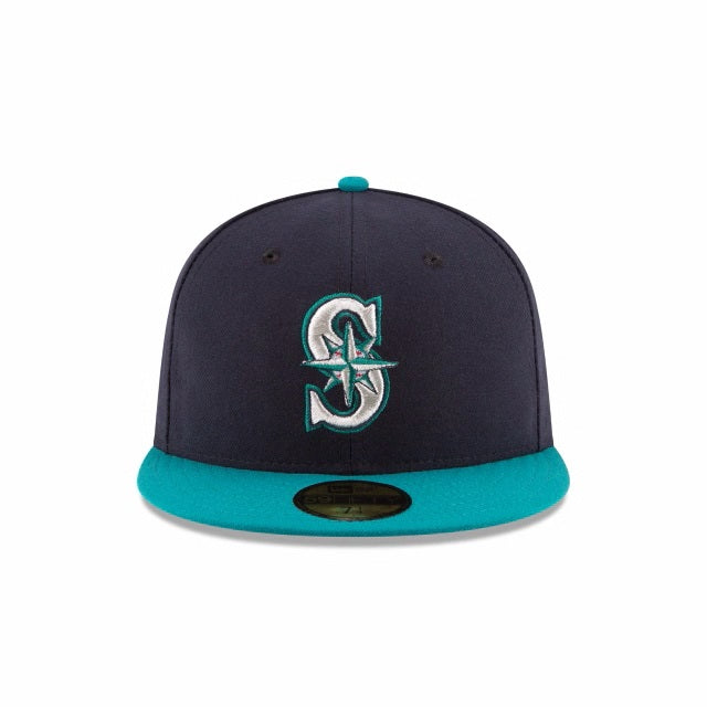 Seattle Mariners Home Authentic Collection 59FIFTY Fitted