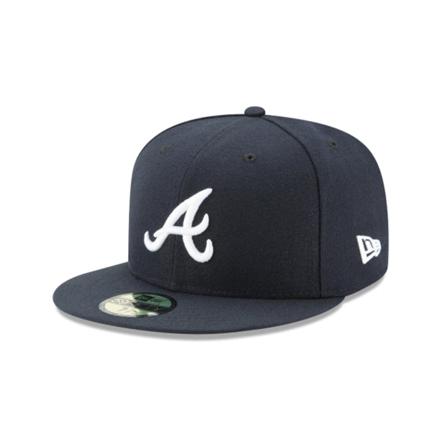 Atlanta Braves Authentic Collection 59FIFTY Fitted - ALT NAVY