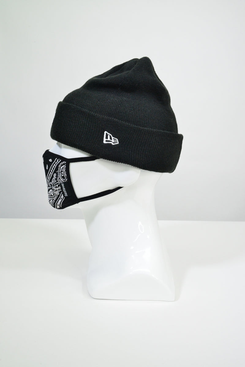 NEW ERA X LASTLEVEL BOGO KNIT CUFF BEANIE - BLACK