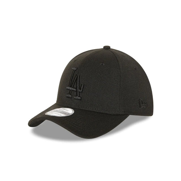 LA DODGERS 9FORTY CS STRAPBACK - BLACK ON BLACK
