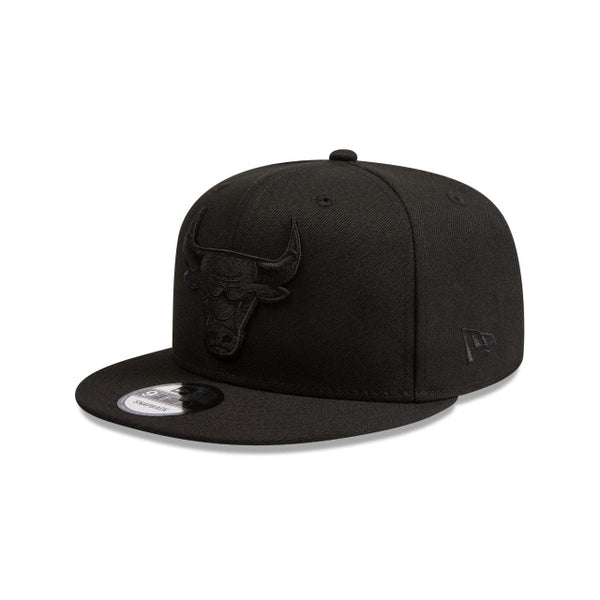 CHICAGO BULLS 9FIFTY SNAPBACK - BLACK ON BLACK