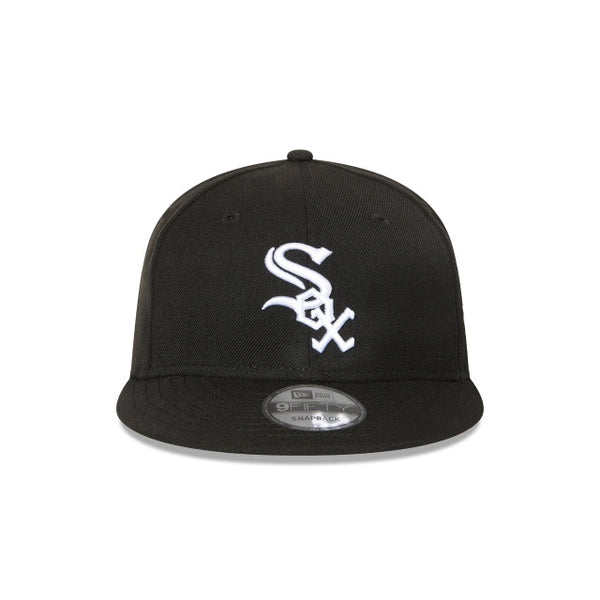 CHICAGO WHITE SOX 9FIFTY SNAPBACK - BLACK-WHITE LOGO