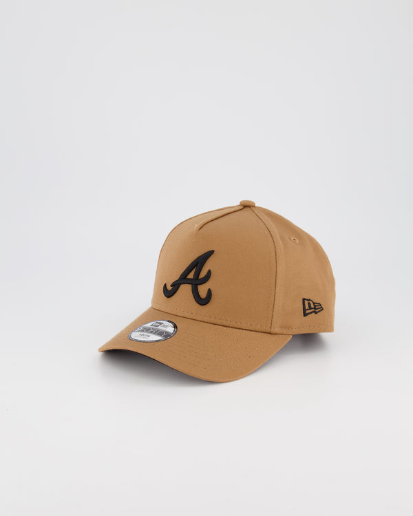 YOUTH ATLANTA BRAVES 9FORTY A-FRAME - WHEAT
