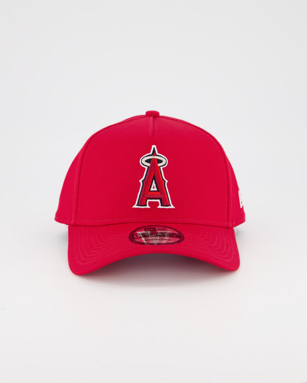 ANAHEIM ANGELS 9FORTY A-FRAME - OTC SCARLET RED