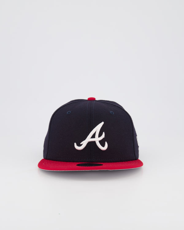 ATLANTA BRAVES YOUTH 9FIFTY - NAVY/RED